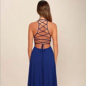 Lulus open back dress